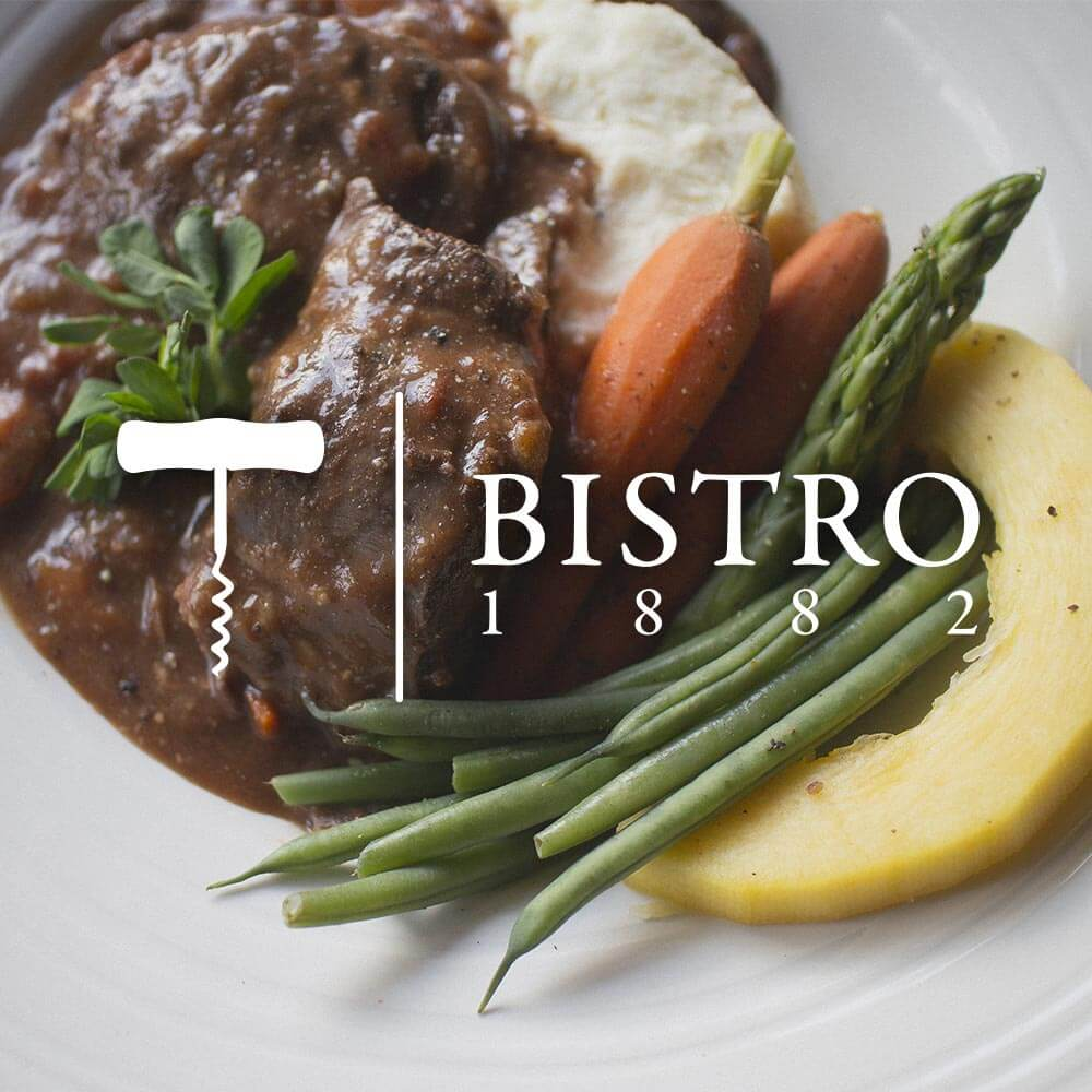 Bistro 1882 website and photography. Rachel Teresa Park, freelance graphic designer in Victoria, BC